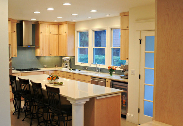 Contemporary Kitchen by Angela Strickland