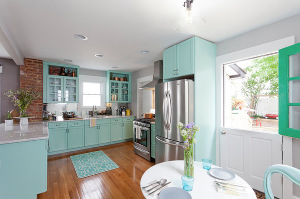 Houzz tour rebooting a 1930s bungalow in 3 days for 1930s bungalow interior design