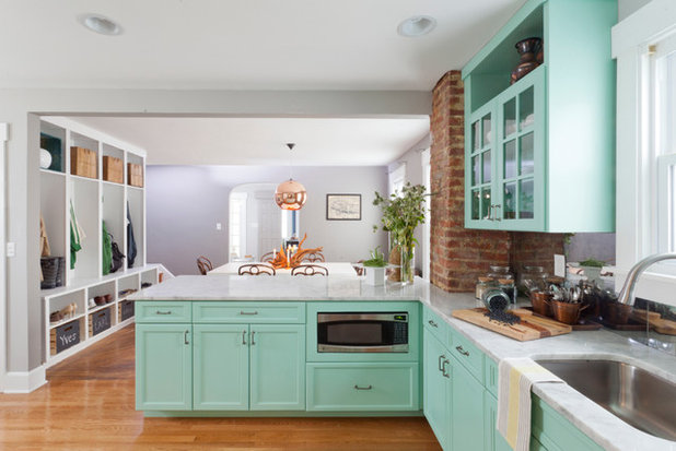 Houzz Tour: Rebooting a 1930s Bungalow in 3 Days