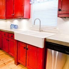 Contemporary Kitchen by Modern Craft Construction, LLC
