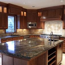 Transitional Kitchen by Ridgecrest Homes