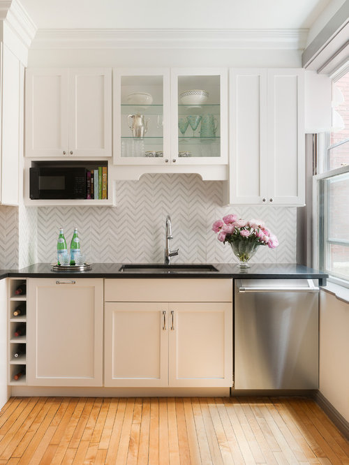 Chevron Backsplash Houzz