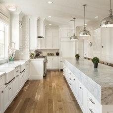 Transitional Kitchen by Fox Group Construction
