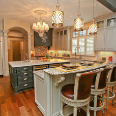 Traditional Kitchen by Kerri Robusto Interiors