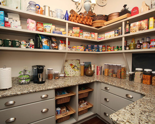 Custom Pantry Shelving Systems Ideas, Pictures, Remodel