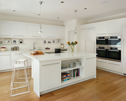 Linear kitchen home design ideas pictures remodel and decor for Linear kitchen design