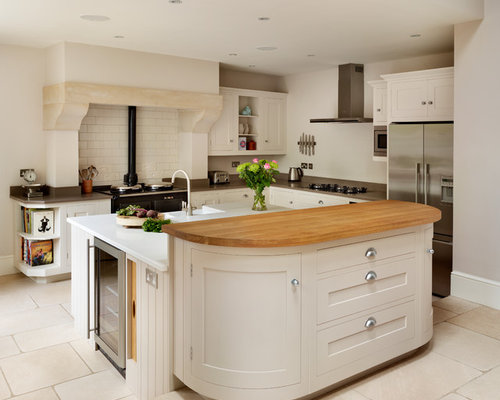 kitchen design around chimney breast best chimney breast kitchen with metro tiled splashback 945