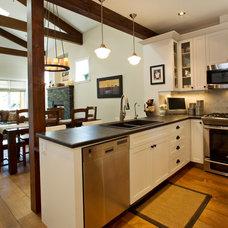 Transitional Kitchen by Icon Developments Ltd