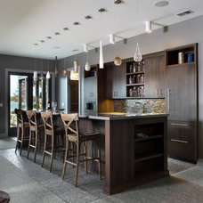 Contemporary Wine Cellar by Visbeen Architects
