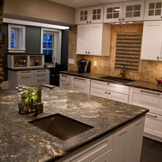 Traditional Kitchen by Erin Marshall Interior Design