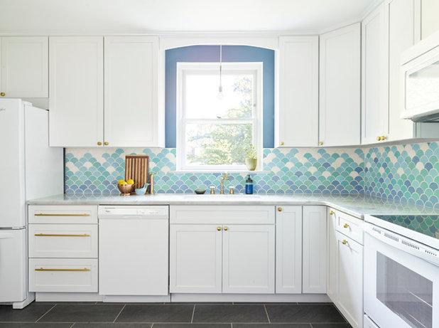 Eclectic Kitchen by Michelle Gage | Interior Designer