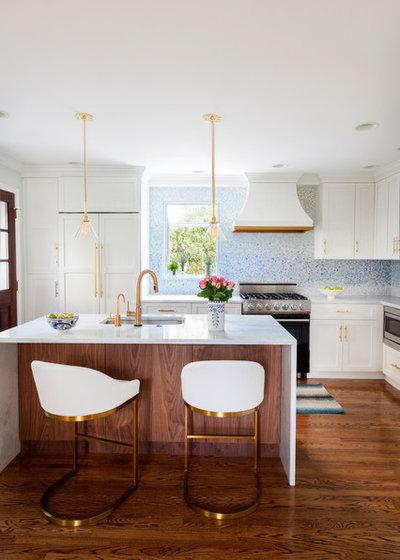 Transitional Kitchen by Design Manifest