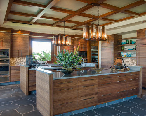 Tropical Kitchen Home Design Ideas Pictures Remodel And Decor