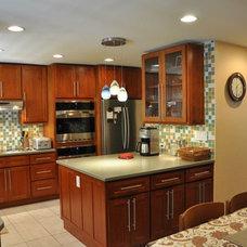 Contemporary Kitchen by Fujita + Netski Architecture, LLC