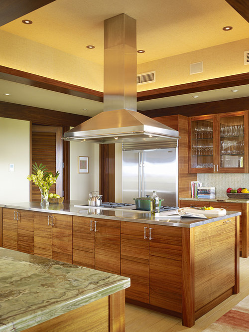 kent kitchen cabinets koa wood houzz 18063