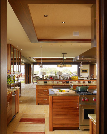 Tropical Kitchen by Slifer Designs