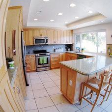 Tropical Kitchen by KADE Restoration