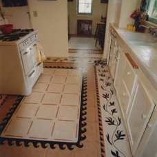Traditional Kitchen by Crogan Inlay Floors