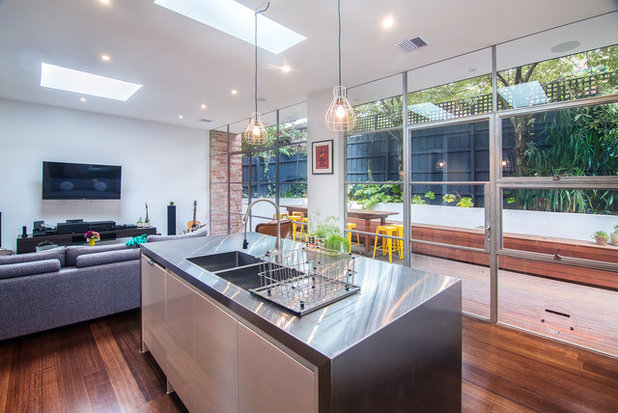 Contemporary Kitchen by Sketch Building Design