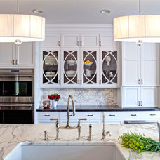 Transitional Kitchen by Airoom Architects-Builders-Remodelers