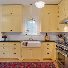 Traditional Kitchen by McCall Design llc