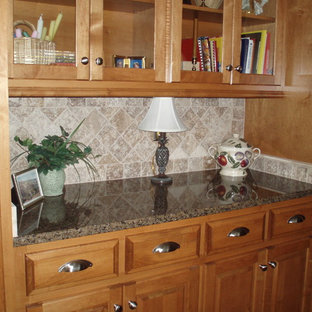 ss kitchen cabinets tropical brown granite houzz 2451