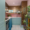 Kitchen Tour: A Flat's Tiny Galley Gains Glamour on a Budget