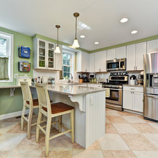 Traditional Kitchen by Arlington Construction Management