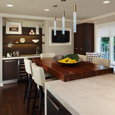 Contemporary Kitchen by AMW Design Studio