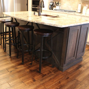 Hazelwood Maple Leaf Heights Rustic Kitchen in Great Room