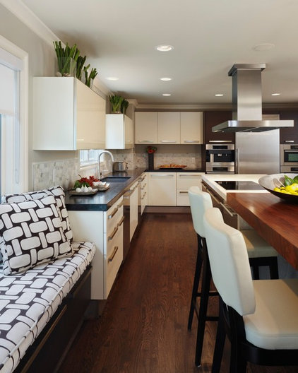 Contemporary Kitchen by Sterling Development Corp.