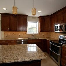 Traditional Kitchen by Hammerhead Custom Carpentry, LLC of Lancaster