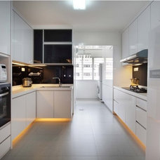 Contemporary Kitchen by 2nd Phase Design