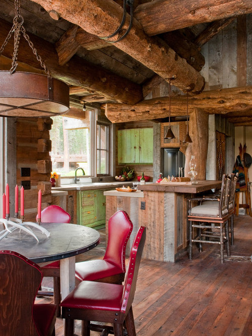 Rustic Green Kitchen Cabinets rustic green kitchen cabinets   houzz