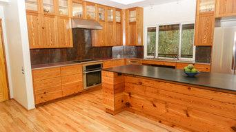 Heart Pine Kitchen
