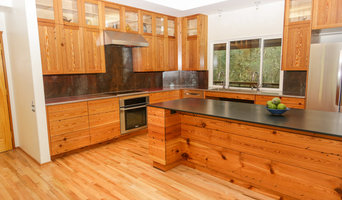 Heart Pine Kitchen