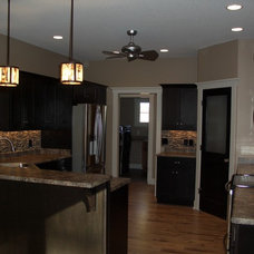 Traditional Kitchen by Quality Crafted Homes