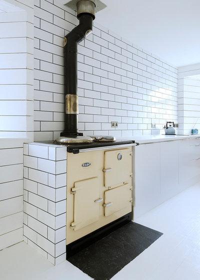 Scandinavian Kitchen by Brown + Brown Architects