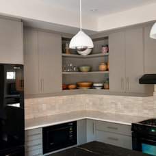 Contemporary Kitchen by CabinetWorks Plus