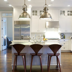 modern kitchen by Heather Garrett Design