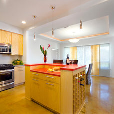 Contemporary Kitchen by Ferrier Custom Homes