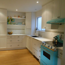 Eclectic Kitchen by Cabinet Warehouse