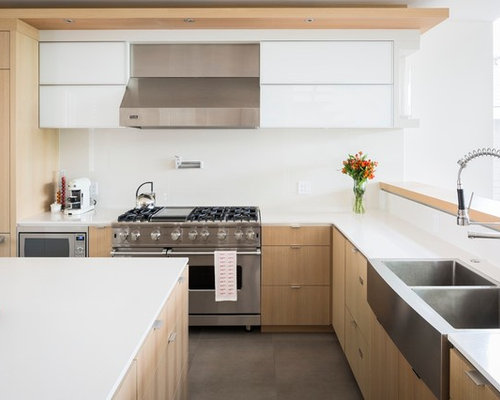one piece backsplash | houzz