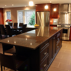 contemporary kitchen by Schnarr Craftsmen Inc