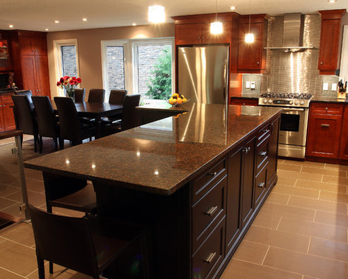 Dakota Mahogany Granite Houzz