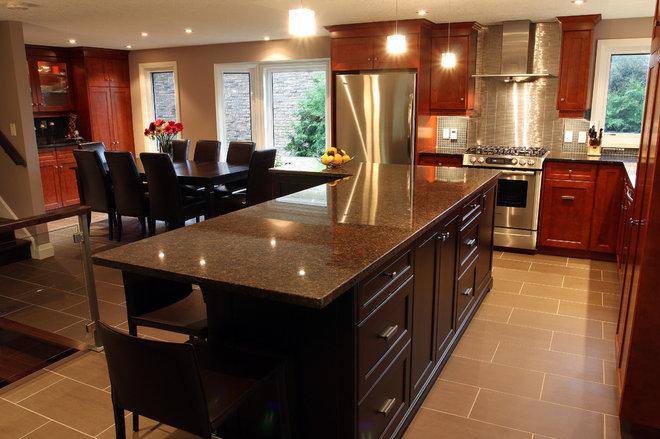 Contemporary Kitchen by Schnarr Craftsmen Inc