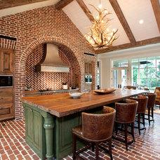 Rustic Kitchen by Lauren Dyer Interiors