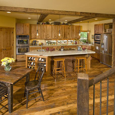 Rustic Kitchen by MQ Architecture & Design, LLC