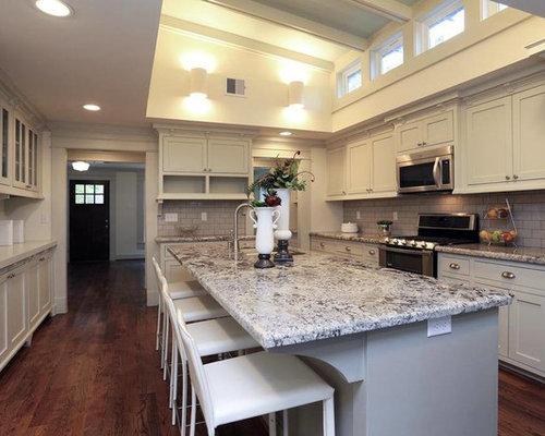 Craftsman Houston Kitchen Design Ideas Remodel Pictures