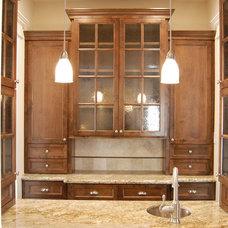 Craftsman Kitchen by Brickmoon Design